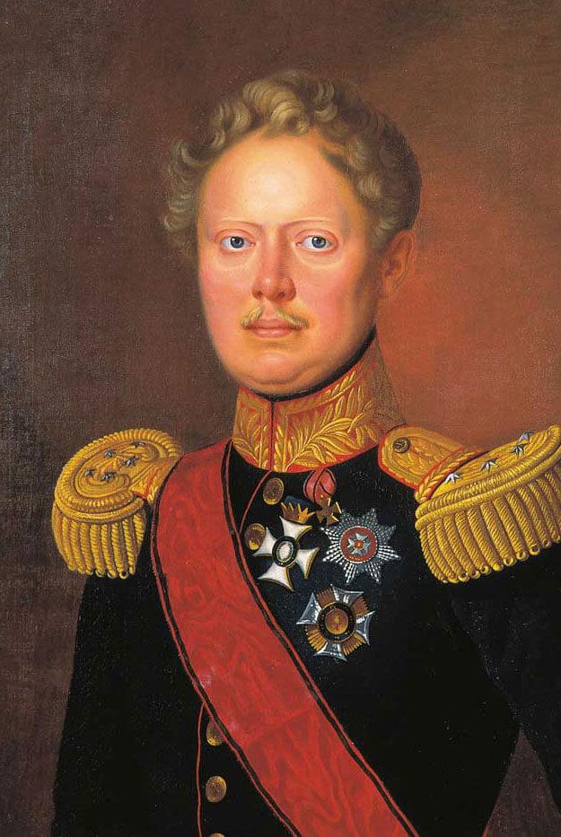 Portrait König Wilhelm I. von Württemberg