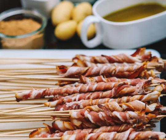 Bacon Spieße