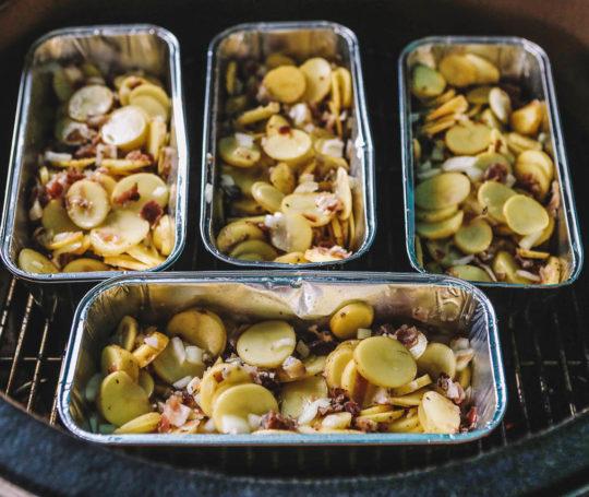 gegrillter Kartoffelsalat in der Grillakademie