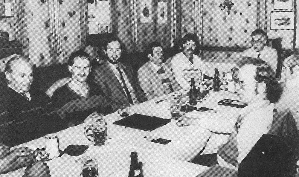 Gründung der Züchtervereinigung Schwäbisch-Hällisches Schwein 11.01.1984