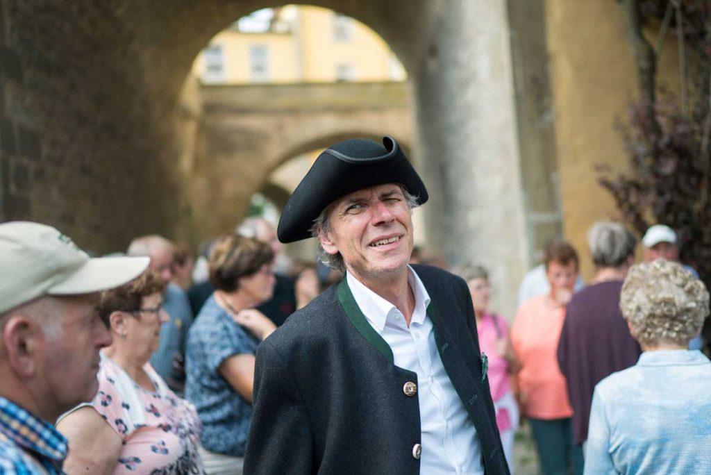 Gästeführer der Hohenloher Bauern: Eberhard Mann