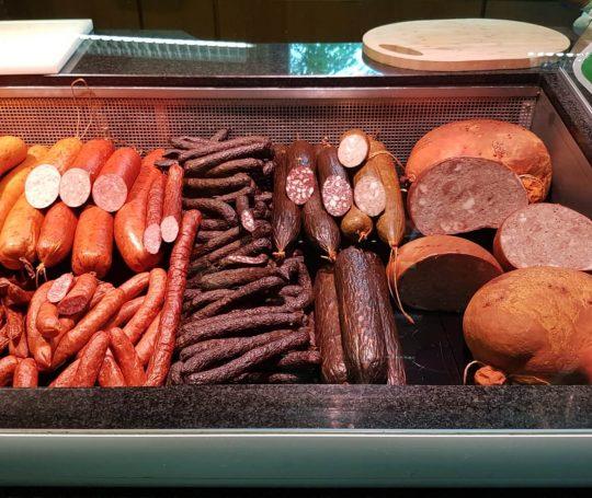 Bio-Wurst aus bestem Schwäbisch-Hällischem Bio-Fleisch und Naturgewürzen.