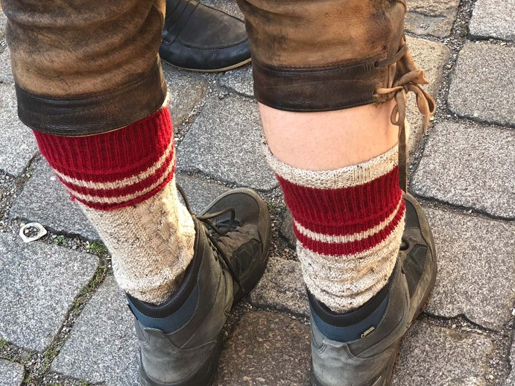 Gutes Schuhwerk sind beim Umzug Pflicht