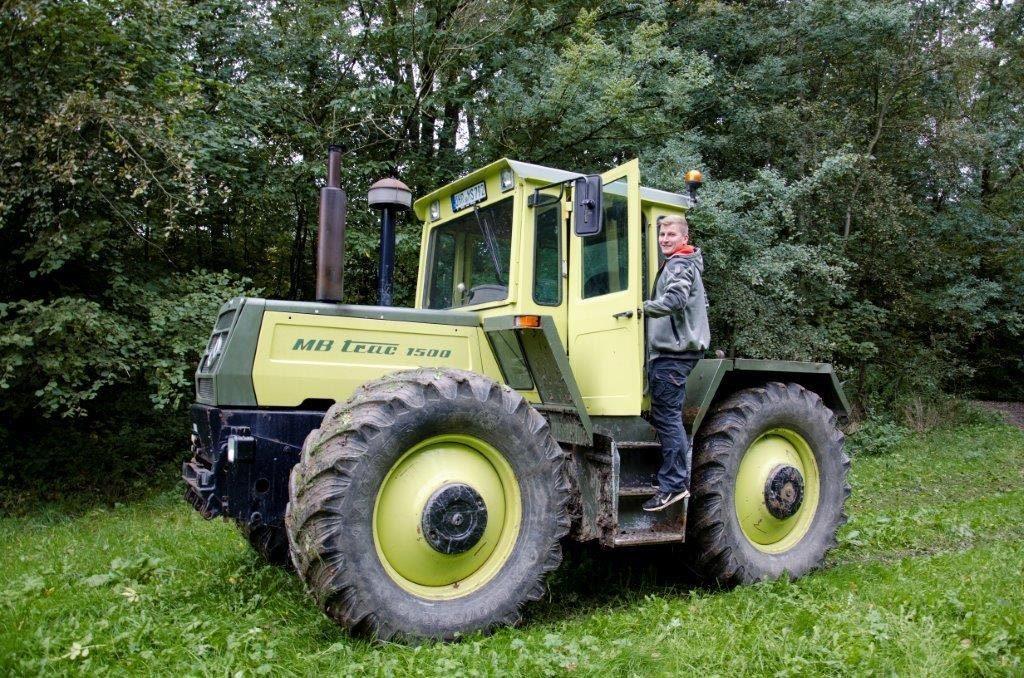 Der Ackerbau ist das zweite Standbein des Streckerschen Hofes.