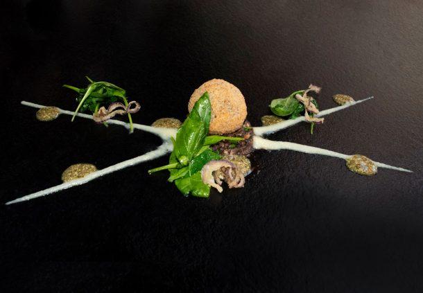 Praline vom Schwäbisch-Hällischen Schweineschwänzle